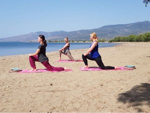 8 Day Pilates and Yoga Vacation with Hiking in Lesbos