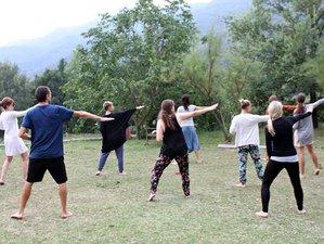 5 días de retiro de yoga con meditación y breathwork en la naturaleza cerca de Barcelona