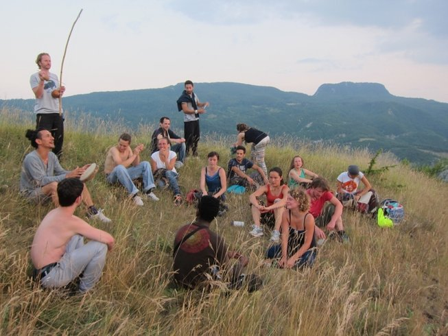 1 Week Capoeira Camp with Mestre Papa-Leguas & Professor Medusa in Tuscany, Italy