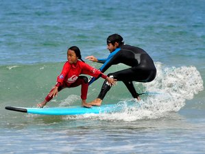 8 Days Children Summer Surf Camp in Playa Somo, Spain