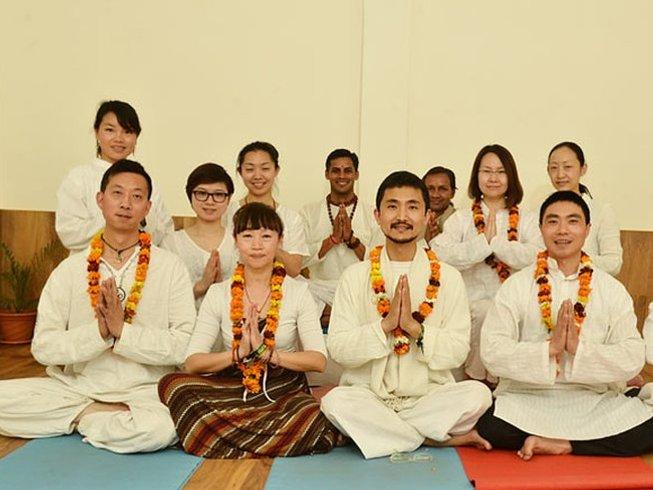 28 Days Growth and Transformational 200-Hour Yoga Teacher Training in Rishikesh, India