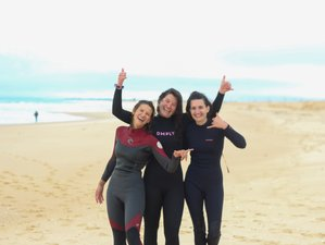 8 Day Yoga, Surf, and Breathwork Holiday with a Weekly Party in the Algarve