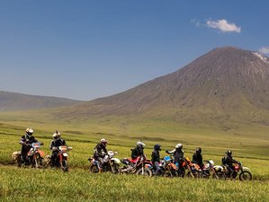 3 Day Enduro Heaven Lake Natron Guided Motorcycle Tour in Tanzania