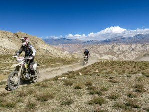 9 Day Forbidden Kingdom of Nepal Guided Motorcycle Tour in Upper Mustang