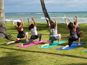 29 jours en stage de yoga dans la province de Samana, République Dominicaine