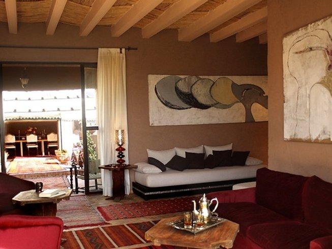 4 Days Yoga Retreat in Marrakech Oasis, Morocco
