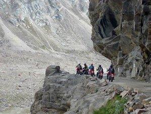 10 Days Ladakh Way Round Guided Himalaya Motorcycle Tour India