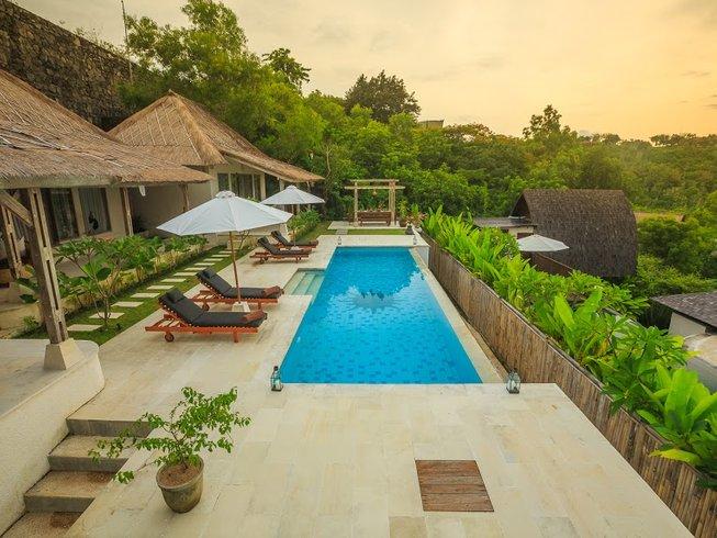 7 días retiro de AcroYoga y aventura en Bali, Indonesia