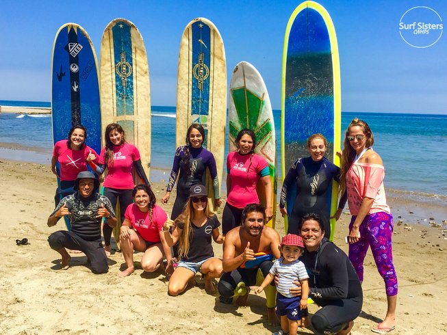8 Days Women's Surf SUP and Yoga Retreat in Peru