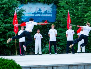 3 Months Learn Kung Fu, Wing chun ,Qi Gong, Tai Chi in Kunyu Mountain,Shandong,China,
