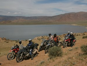 16 Day Guided BMW Motorcycle Tour from Russian Siberia to Mongolia