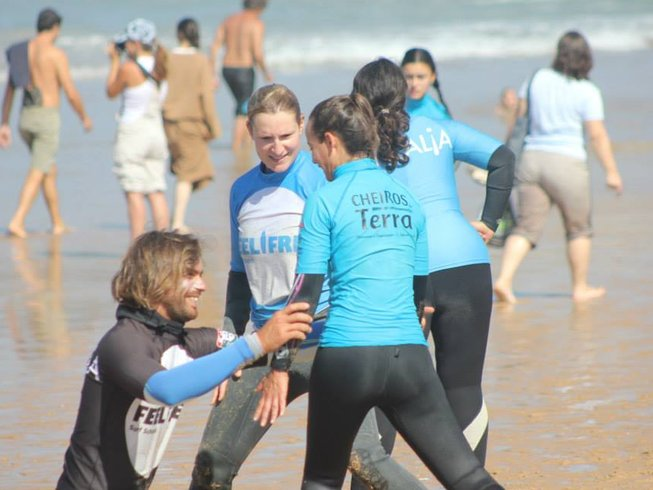4 Days Amazing Surf Camp in Cascais, Portugal