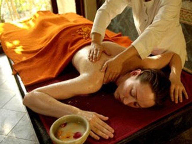 15 días sanación con Ayurveda y campamento de yoga en Rishikesh, India