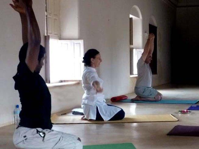 9 jours en retraite de yoga et méditation à la Saratha Vilas dans le Tamil Nadu, Inde