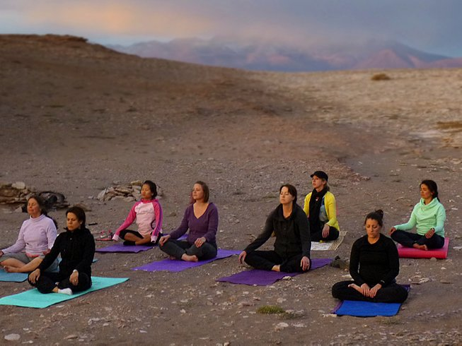 7 Days Yoga Holiday in Combarbalá, Chile