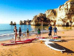 8 días de yoga relajante, meditación y campamento de surf en Algarve, Portugal