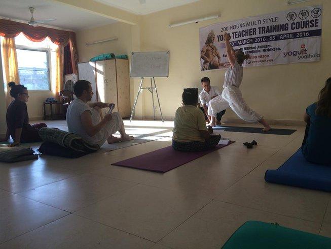 24 Days 200-Hour Yoga Teacher Training in Rishikesh, India
