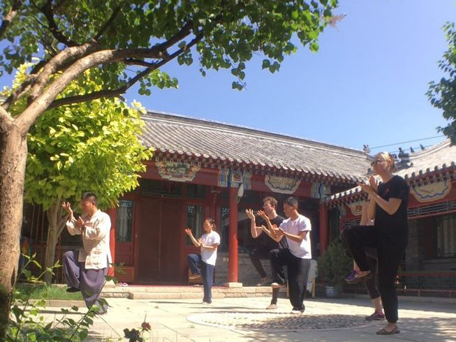 6 Months Shaolin & Wudang Kung Fu Training in China
