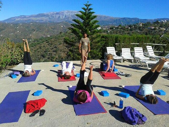 yoga in andalusia