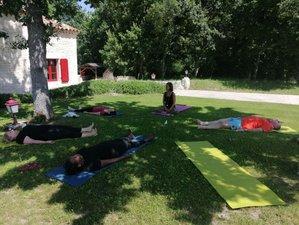 8 jours en stage jeûne et yoga de l'énergie avec piscine, spa et jacuzzi dans le Gers