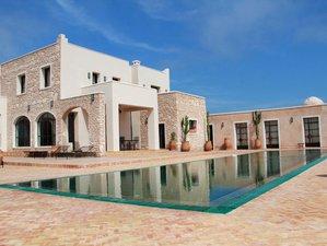 8 días de lujosas vacaciones de masajes, pilates, detox, bienestar y yoga en Esauira, Marruecos