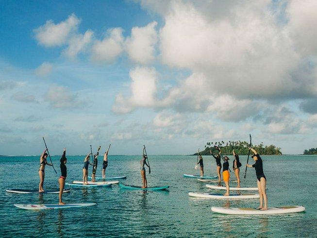 7 jours en retraite de yoga et stand up paddle, Îles Cook