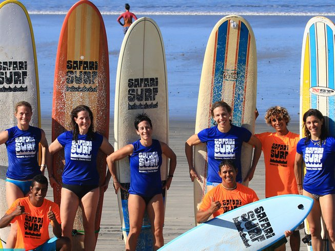8 Days Backpacker's Surf Camp in Nosara, Costa Rica