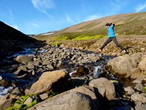 6 jours en stage de yoga et randonnée en automne, Islande