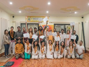 26 Day 200 Hour Affordable Multi Style Yoga Teacher Training in Rishikesh
