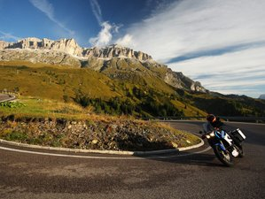 4 Day Motorcycle Holiday in Province of Bolzano, Italy