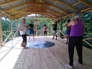 30 Day Embraced by Mother Nature Qigong and Meditation Retreat in Bimenes, Asturias