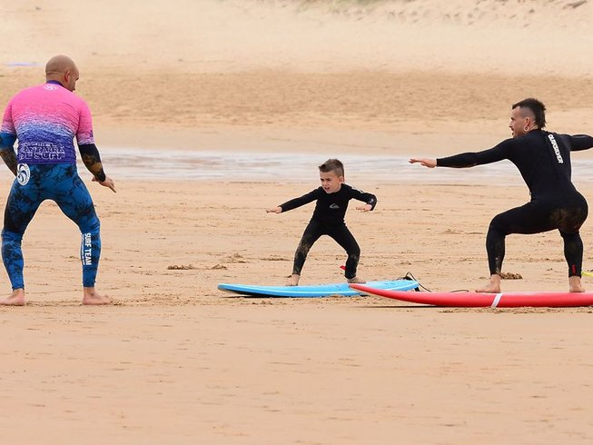8 Days Surf Camp in Cantabria, Spain