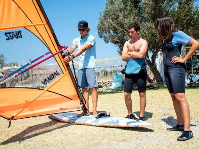 8 Days Intermediate Windsurf Camps Sigri, Greece