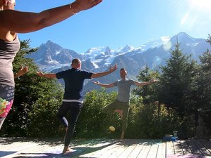8 Day Spa, Hiking, and Yoga Holiday in Chamonix with Jess Dezaux