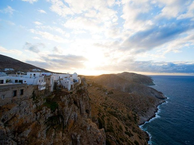 7 Days Yoga Retreat in Folegandros Island, Greece