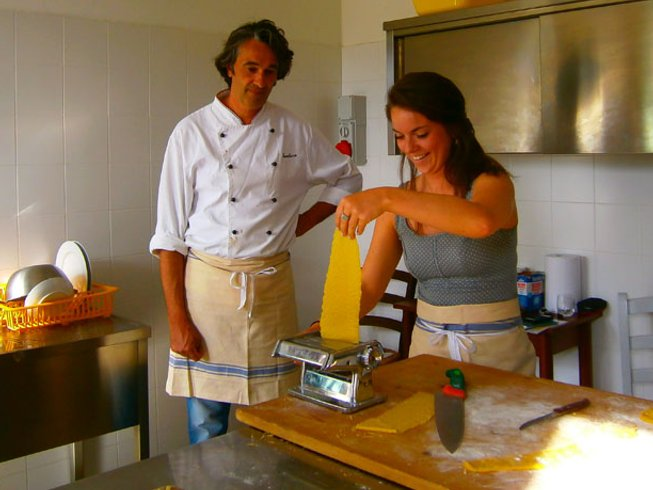 6 Days Painting and Cooking Holidays in Italy