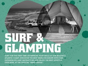 4 Day Surf Glamping at Bukubaki Eco Surf Resort in Peniche