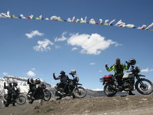 10 Day Ladakh Way Round Guided Himalaya Motorcycle Tour