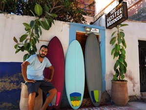 6 days Sunset Surf Camp, with traditional cuisine and authentic accommodation, Tamraght, Taghazout.