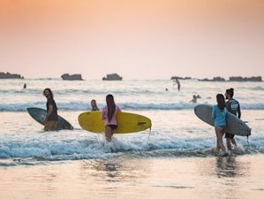 6 Day Selina Surf Camp's Surf and Cowork Package in Nosara