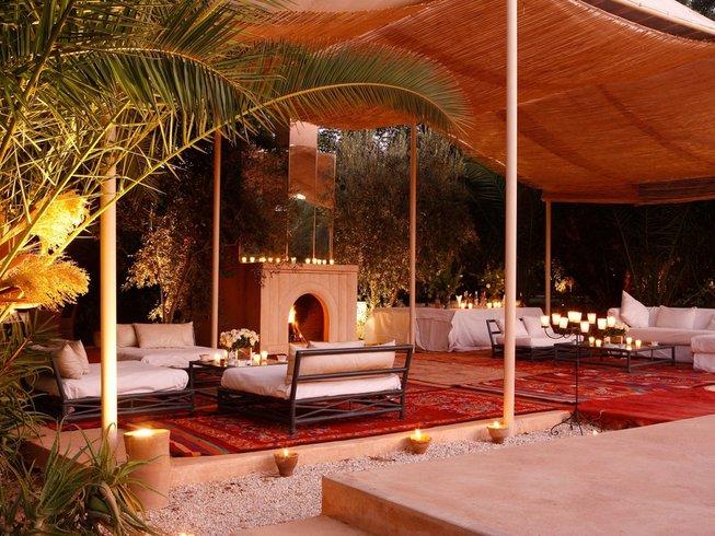 7 Tage Yoga mit Perumal in Palmeraie Luxury, Marokko