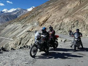 8 Day Explore the Himalayas on Wheel Guided Motorcycle Tour