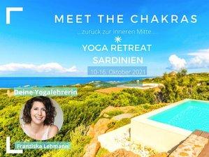 7 Tage Aktiviere Deine Chakren Yoga Retreat mit Vinyasa, Yin und Meditation auf Sardinien