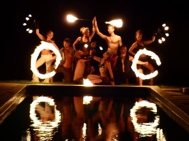 14 Days Fire Dance and Yoga Retreat in Costa Rica