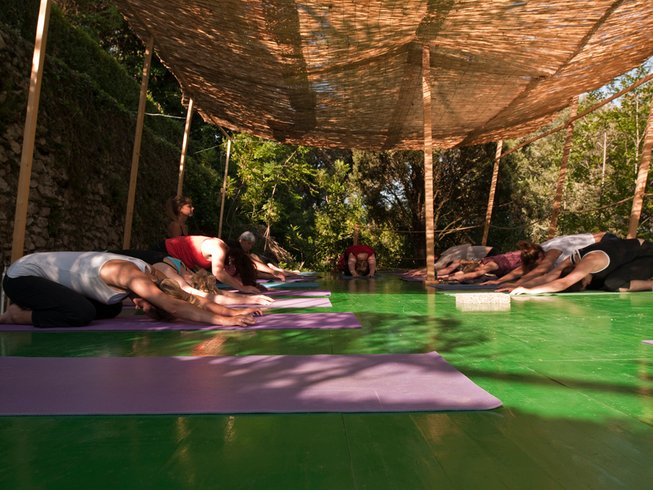 14 Tage Deluxe Yoga Urlaub in Casperia, Italien
