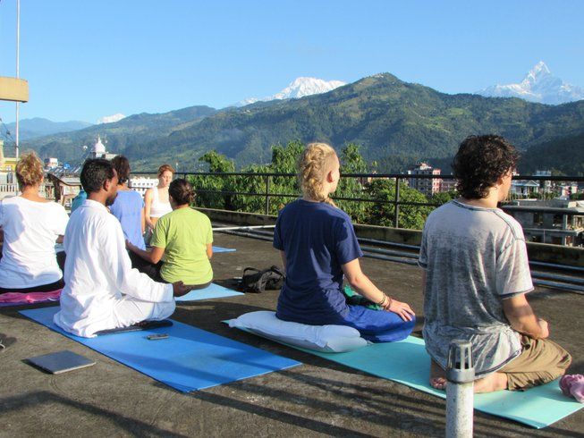 28 Days 200-Hour Yoga Teacher Training in Nepal