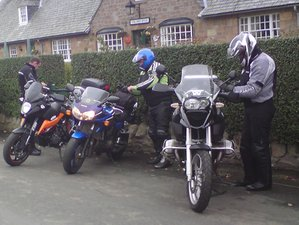7 Day Northumberland Pennines Scottish Border Guided Motorcycle Tour in UK