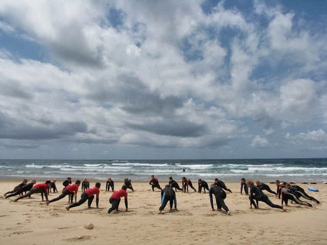 8 Days Yoga and Surf Camp in Algarve