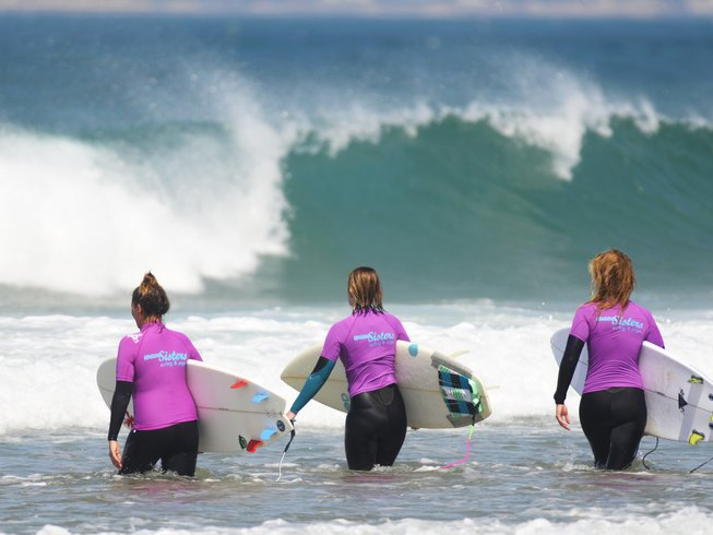 8 Days Women's Surf and Yoga Retreat in Portugal