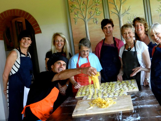 6 Days Cooking Vacation in the Magical Tuscany